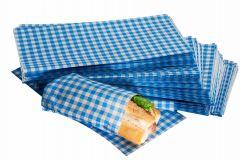 Blue Gingham Design Duplex Butcher Sheets 250mm x 375mm