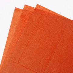 Orange Premium Coloured Tissue Paper 500mm x 750mm
